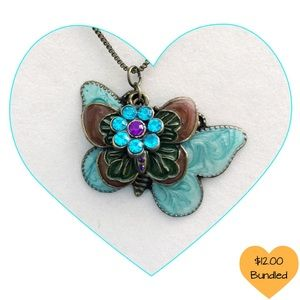 Butterfly Necklace 🌹FREE SHIPPING 3 Items🌹